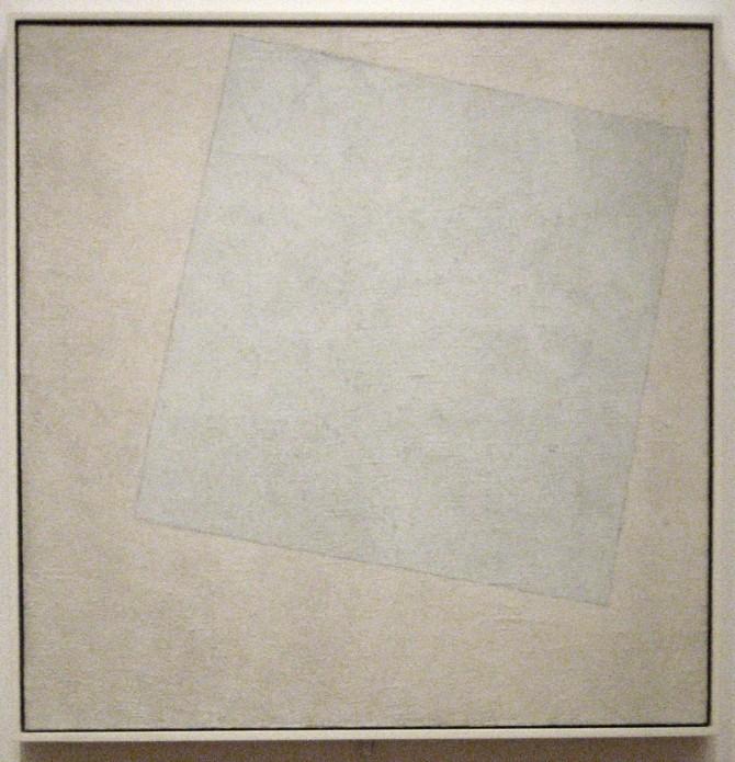 Malevich-Blanco sobre blanco 1918