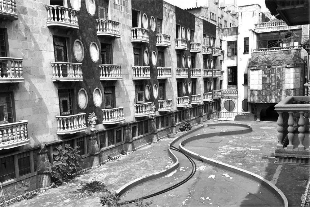 Edificio donde se ubicaba el hotel Posada del Sol, colonia Doctores, Ciudad de México, ca. 2000.