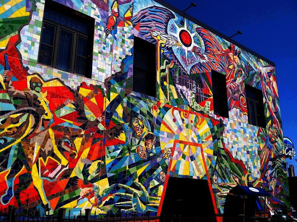 Perfil del mural