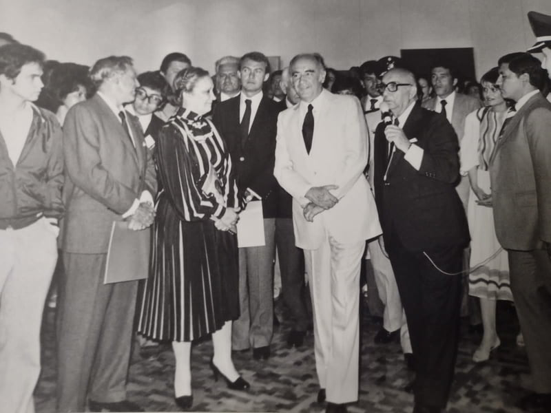 Fundación del Museo Rufino Tamayo, 29 de mayo de 1981. Archivo de la Promotora Cultural Fernando Gamboa, A. C.