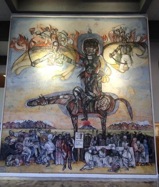 Fray Servando de América, 1990 Acrílico sobre tela Biblioteca estatal de Nuevo León Internet