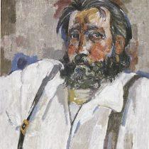 Autorretrato, 1984 Óleo sobre tela 70 x 80 cm