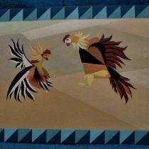 Figura 7b. Pelea de gallos